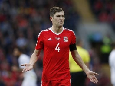 File photo of Wales defender Ben Davies. Reuters
