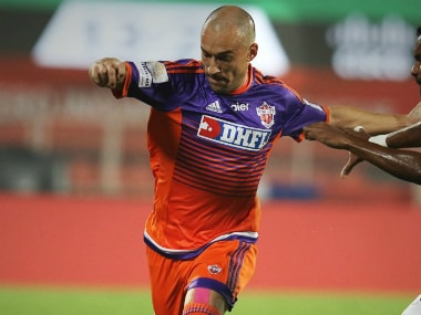 File image of FC Pune City player Tato. Image credit: Twitter/FCPuneCity