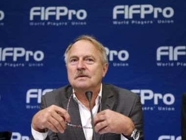 Theo van Seggelen, Secretary General of FIFPro, the world football players' union. Reuters