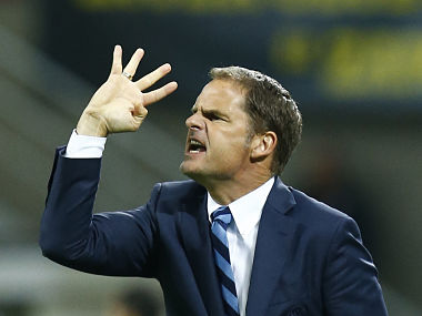 File picture of Frank de Boer. Reuters