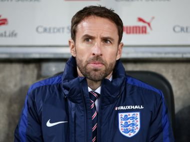 England manager Gareth Southgate. Getty Images