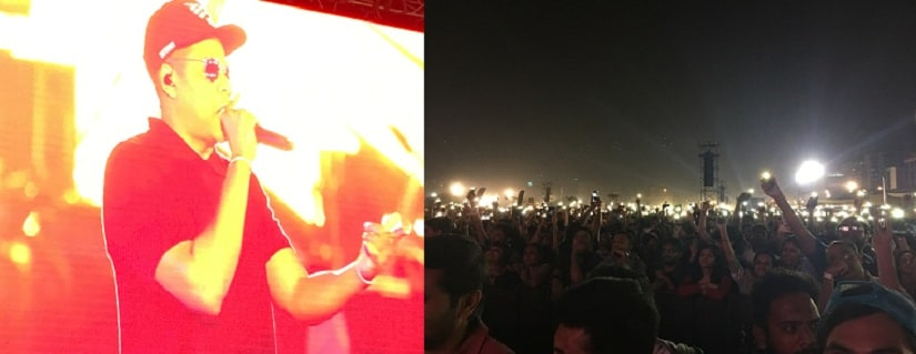 This is Jay Z's first performance in India