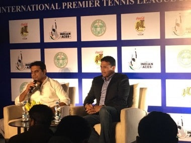 Mahesh Bhupathi at a press conference ahead of the 2016 edition of the IPTL.