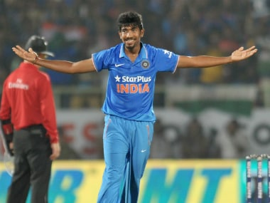 File image of Jasprit Bumrah. AFP