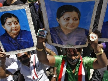 Supporter of AIADMK supremo and Tamil Nadu Chief Minister J Jayalalithaa. Reuters