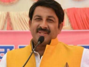 File image of Manoj Tiwari. Youtube