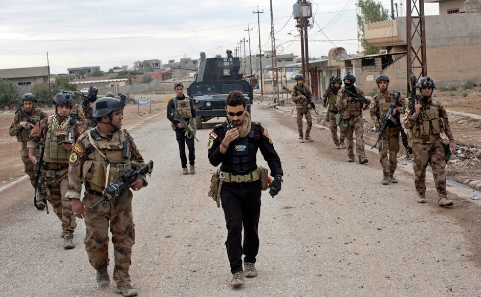 Iraq launched a massive operation to retake Mosul from the extremists a little more than two weeks ago, and its forces have reached the eastern outskirts of the city. AP