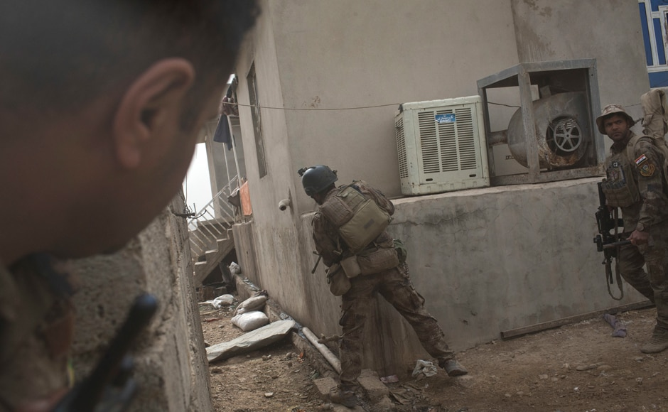 "For CTS's ""Mosul Regiment"" fighting for the city, retaking it is a matter of pride. AP"