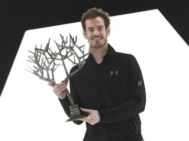 Murray grabbed this Paris Masters title in addition to being crowned World No 1. AFP