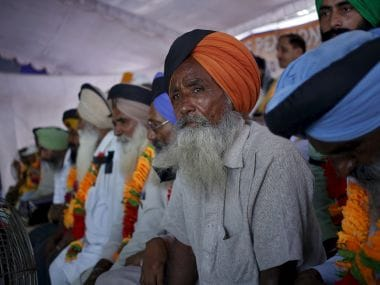 Army veterans protesting for Orop. Reuters file image