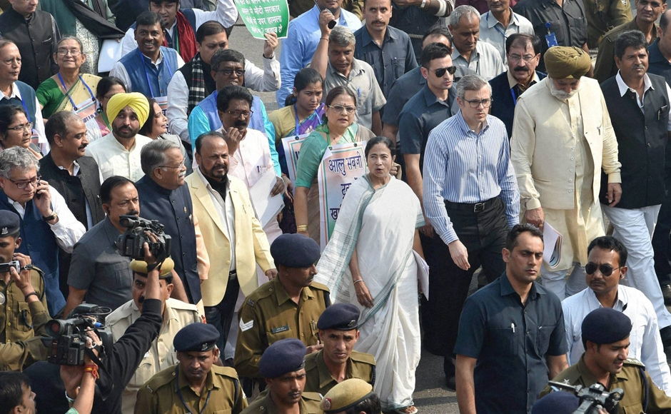 """We had a successful meeting with the President during which we discussed the issue. And the President said he would look into the matter,"" Bengal CM said, after emerging out of the Rashtrapati Bhawan. She said the situation arising out of demonitisation has triggered a sort of constitutional crisis. PTI"