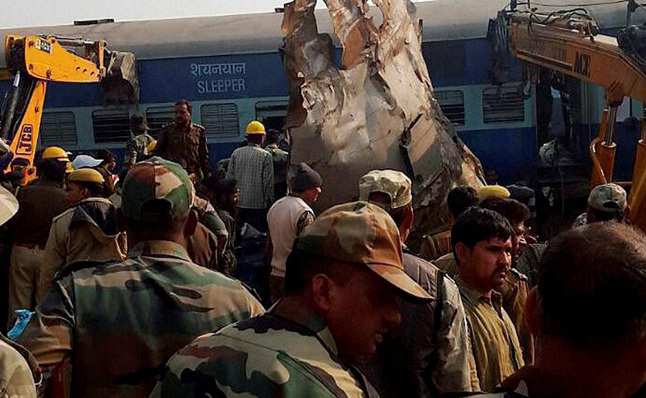 Some passengers complained that there had been unexplained noises in the S1 coach but the train staff did not pay heed. The train halted twice for reasons which are not yet clear. PTI