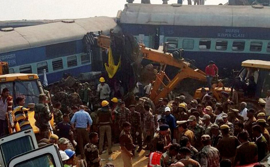 The passengers were asleep when the disaster struck, stunning everyone. The first to derail were the S1 and S2 coaches, which suffered the maximum damage, followed by 12 other coaches. PTI