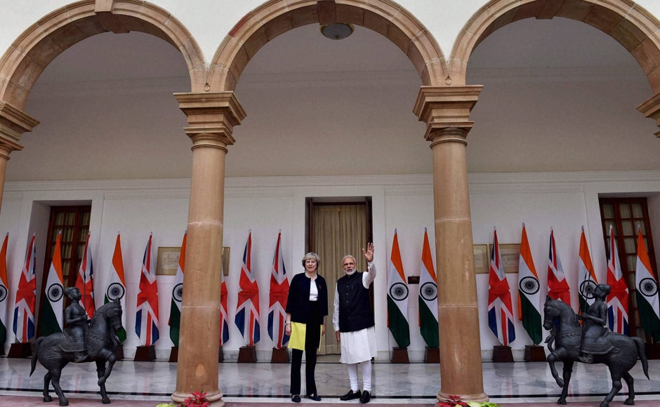 In a joint address to the India-Britain Tech Summit, May applauded India's help in diversifying Britain's economy through investment where Modi pointed out areas where London could help New Delhi — in affordable healthcare, technology and academics. PTI