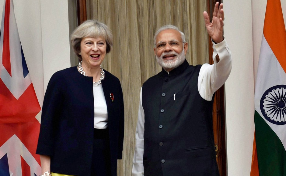 "Prior to her departure for Bangalore, she said: ""The UK and India are natural partners – the world's oldest democracy and the world's largest democracy."" PTI"