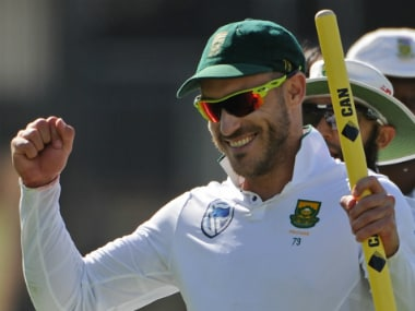 File image of outh Africa captain Faf du Plessis. AFP