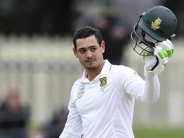 File photo of Quinton de Kock. AP