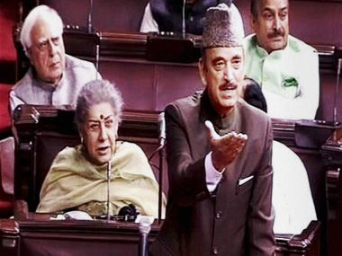 Leader of Opposition in Rajya Sabha Ghulam Nabi Azad rallied against the Narendra Modi government in Rajya Sabha. PTI