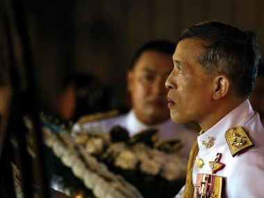 King Maha Vajiralongkorn will ascend the throne after his father's cremation on 26 October. Reuters