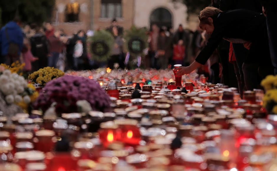 And prayers — prayers with candles, silent prayers, group prayers, prayers for loved ones now gone — echo across the land. Reuters
