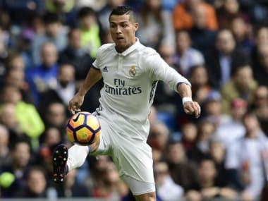 File image of Cristiano Ronaldo. AFP