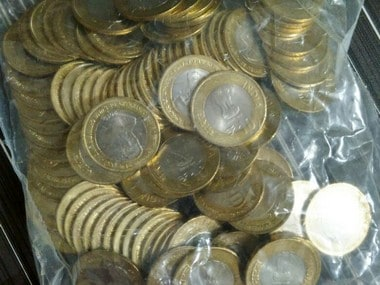 Rs 10 coins. Firstpost Photo