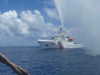 South China Sea. AP