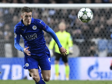 File image of Jamie Vardy. AFP