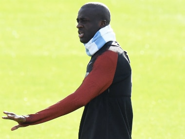 File image of Yaya Toure. AFP