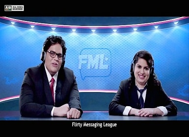 AIB's new hilarious video featuring Tanmay Bhatt and Mallika Dua Picture courtesy: DNA