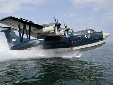 Japan and India have been holding talks on the purchase of US-2 aircrafts for more than two years. Reuters