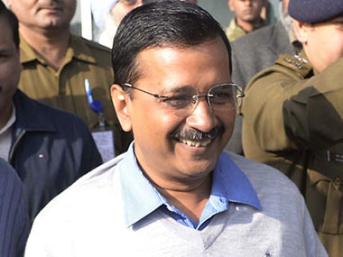 File photo of Arvind Kejriwal. AFP