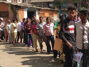 Queue at an ATM after demonetisation. File photo