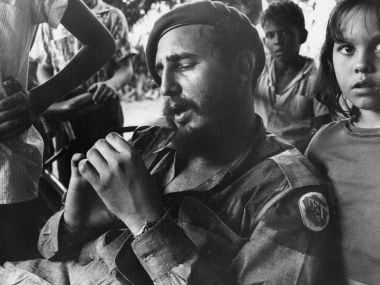 A file photo of Fidel Castro in Havana. GettyImages