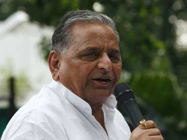 Samajwadi Party chief Mulayam Singh Yadav. Reuters