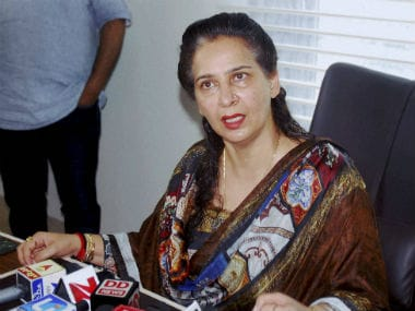 File photo of Navjot Kaur Sidhu. PTI