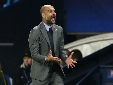 Guardiola said Manchester City had established a benchmark for future Champions League success. Reuters
