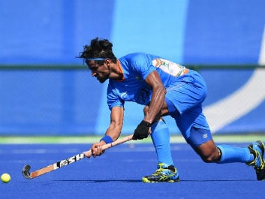 File photo of Rupinder Pal Singh. AFP