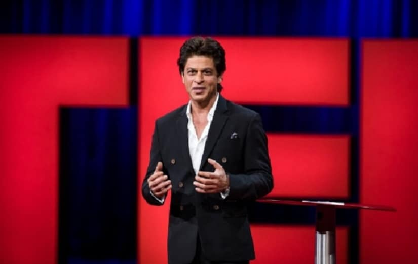 Shah Rukh Khan delivers his TED Talk 2017 at Vancouver, Canada