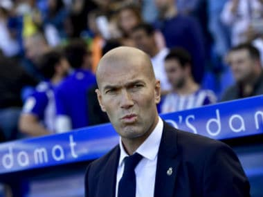 Zidane said he was happy for the 100 matches, but there was still a lot to learn. AP