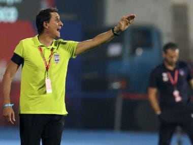 File image of Mumbai CIty FC coach Alexandre Guimaraes. Image courtesy: Mumbai City FC