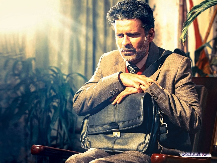 Manoj Bajpayee as Prof Siras in 'Aligarh'