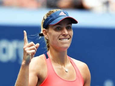 Angelique Kerber finished the year as the World No 1. AFP