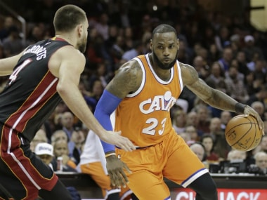NBA roundup: LeBron James lifts Cavaliers to win; Thunder lose despite Russell Westbrook's triple-double