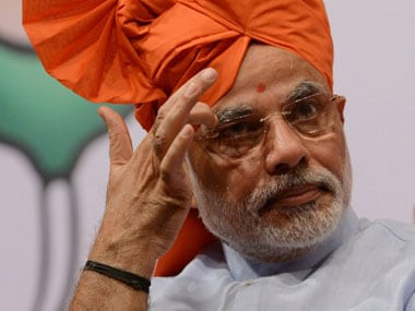 Narendra Modi. AFP file image
