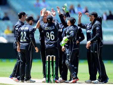 File image of New Zealand cricket team. AFP