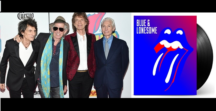 The Rolling Stones' new album 'Blue & Lonesome' comes 11 years after their previous album, 'A Bigger Bang'