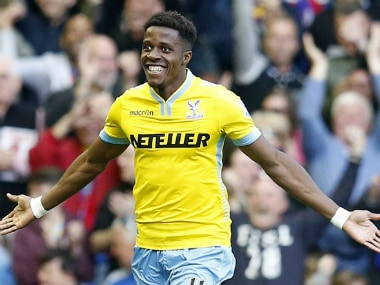 File image of Wilfried Zaha. AP