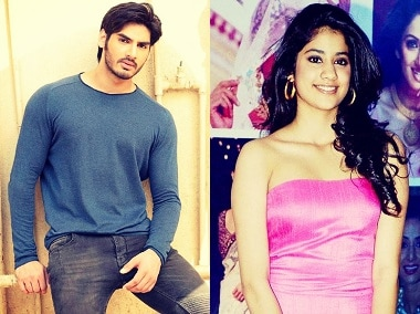 Ahan Shetty and Jhanvi Kapoor, who might be getting their debut in Karan Johar's next. Image courtesy: News18