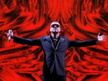 File image of British singer George Michael. AP